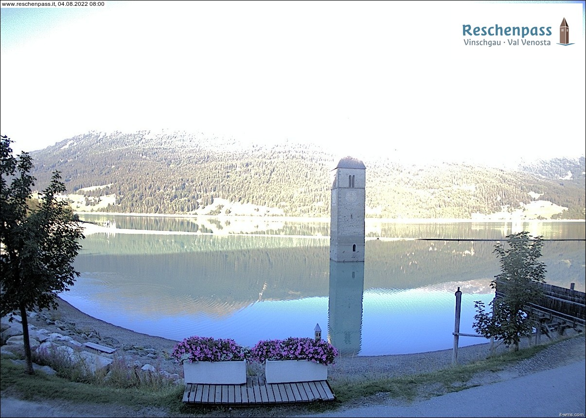 webcam lago resia