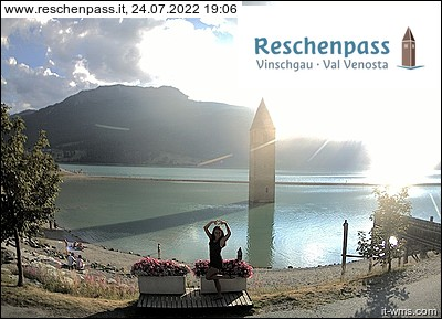 Webcam <br><span> lago di resia</span>