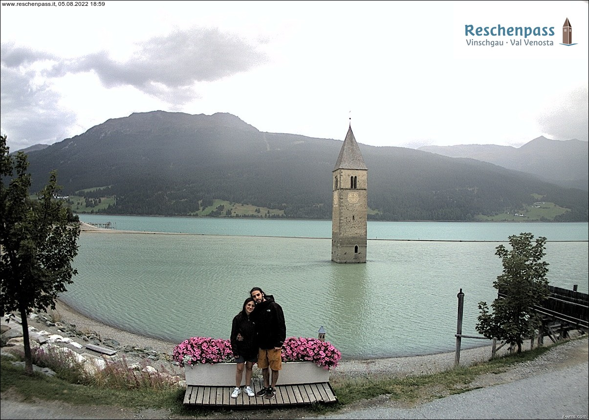 Webcam Reschen pass